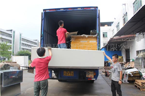 惠州水上乐园建造公司订购的老化房正式启动