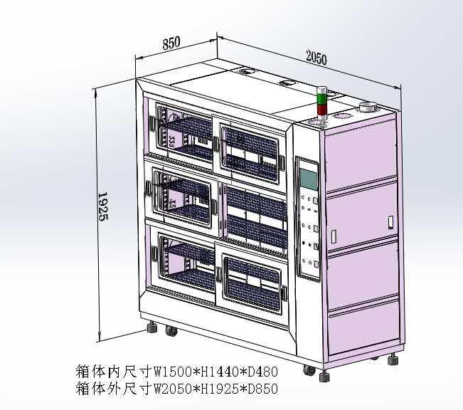 老化柜 老化烘箱 电子产品专用老化柜